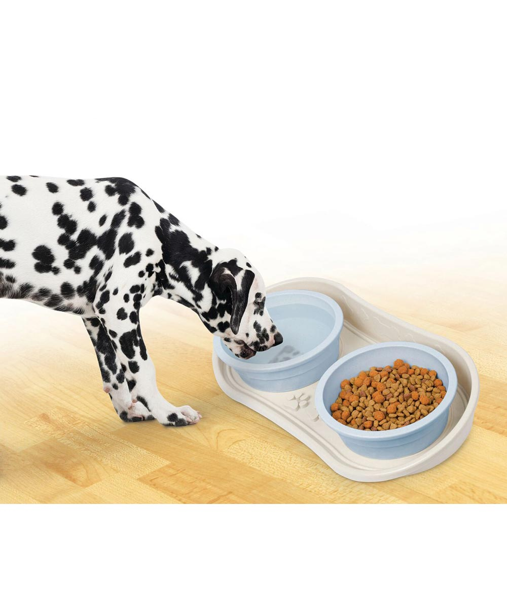 Non-Slip Pet Bowl Tray