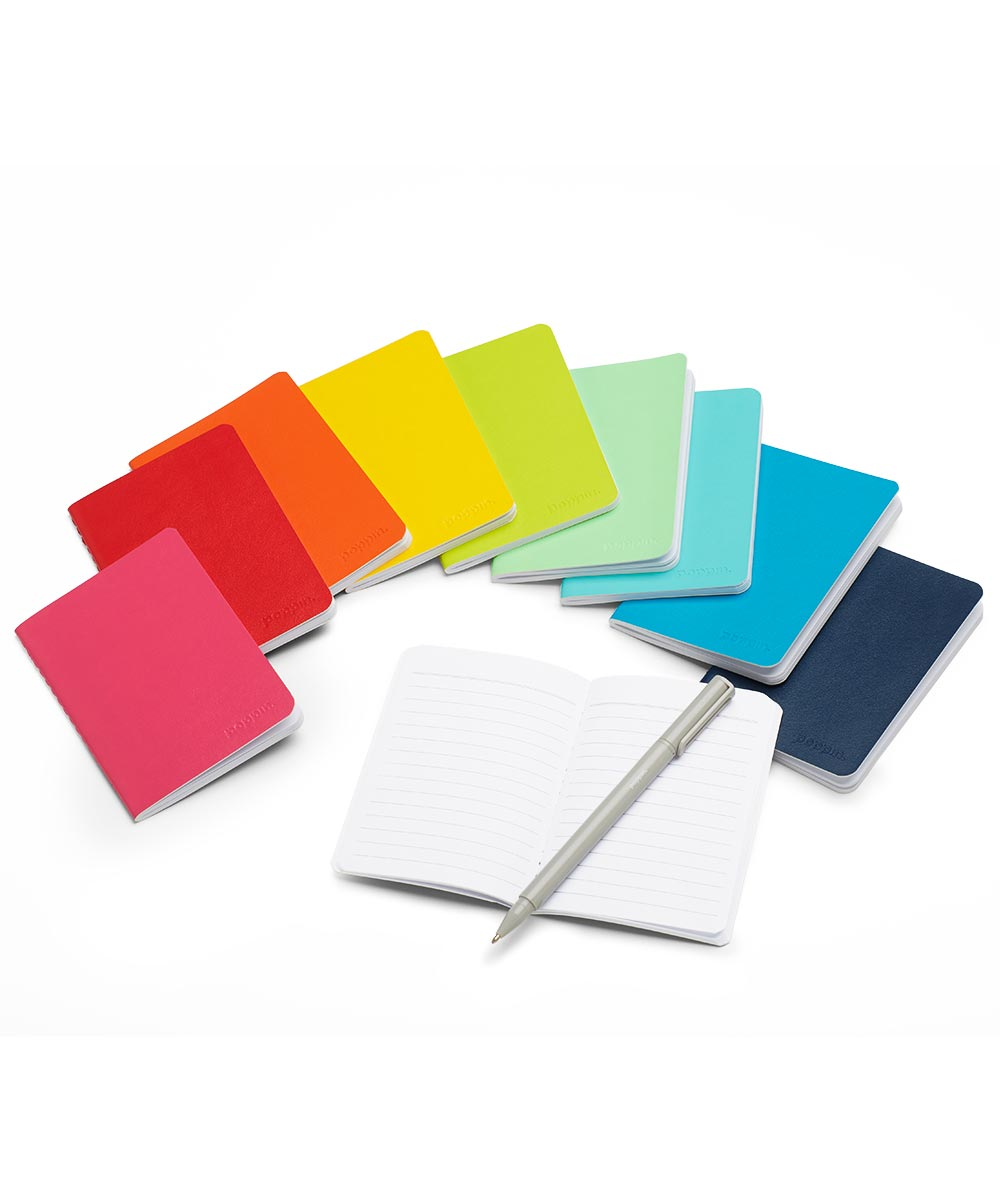 Mini Medley Soft Cover Notebooks, Set of 10
