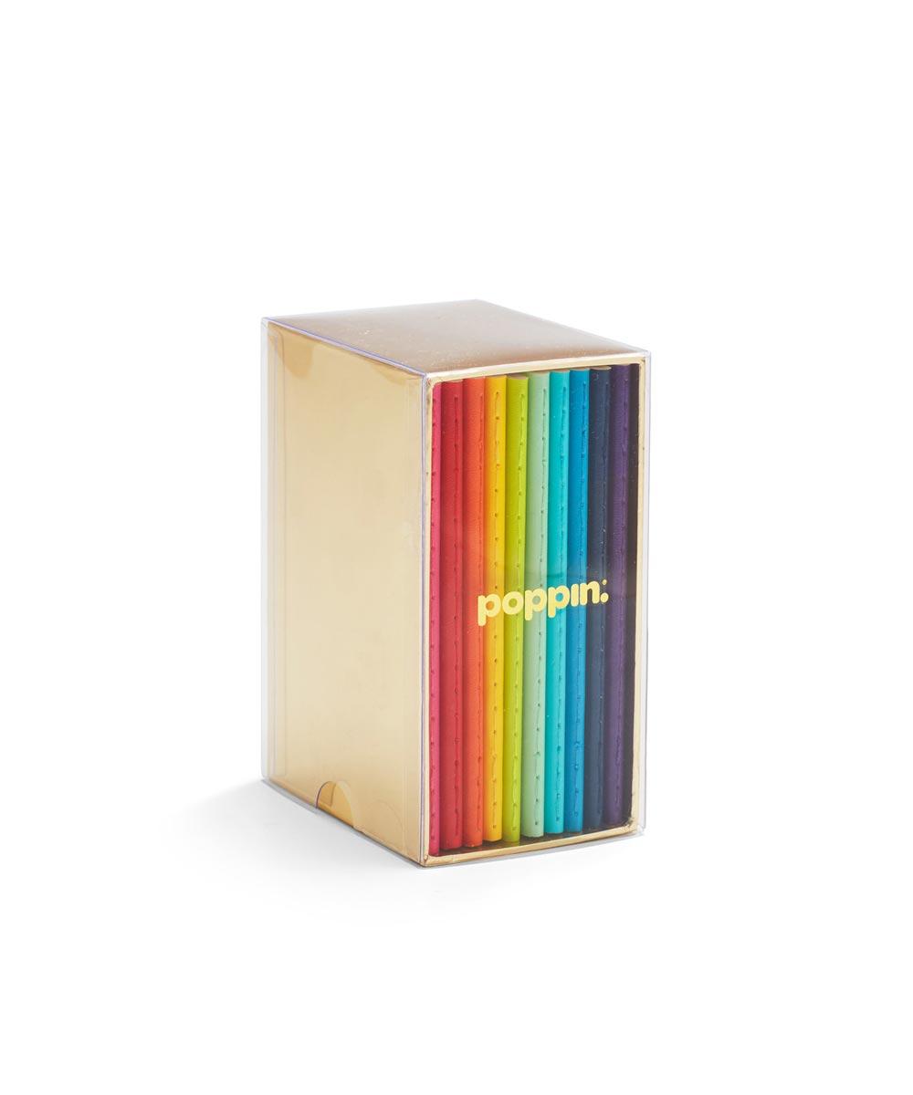 Mini Medley Soft Cover Notebooks, Set of 10
