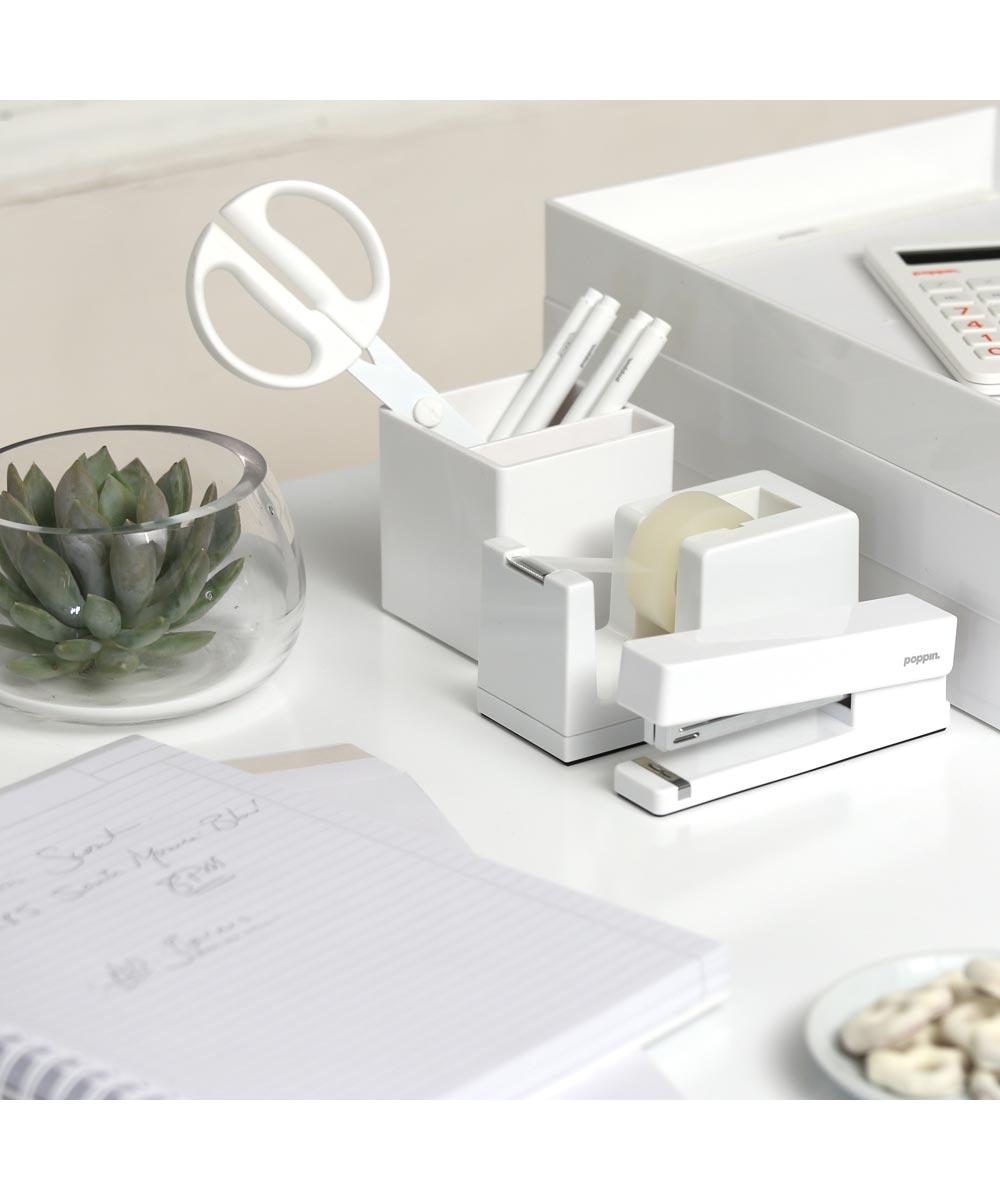 Tape Dispenser, White