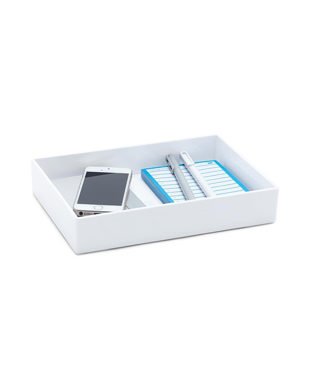 Accessory Tray, Medium White