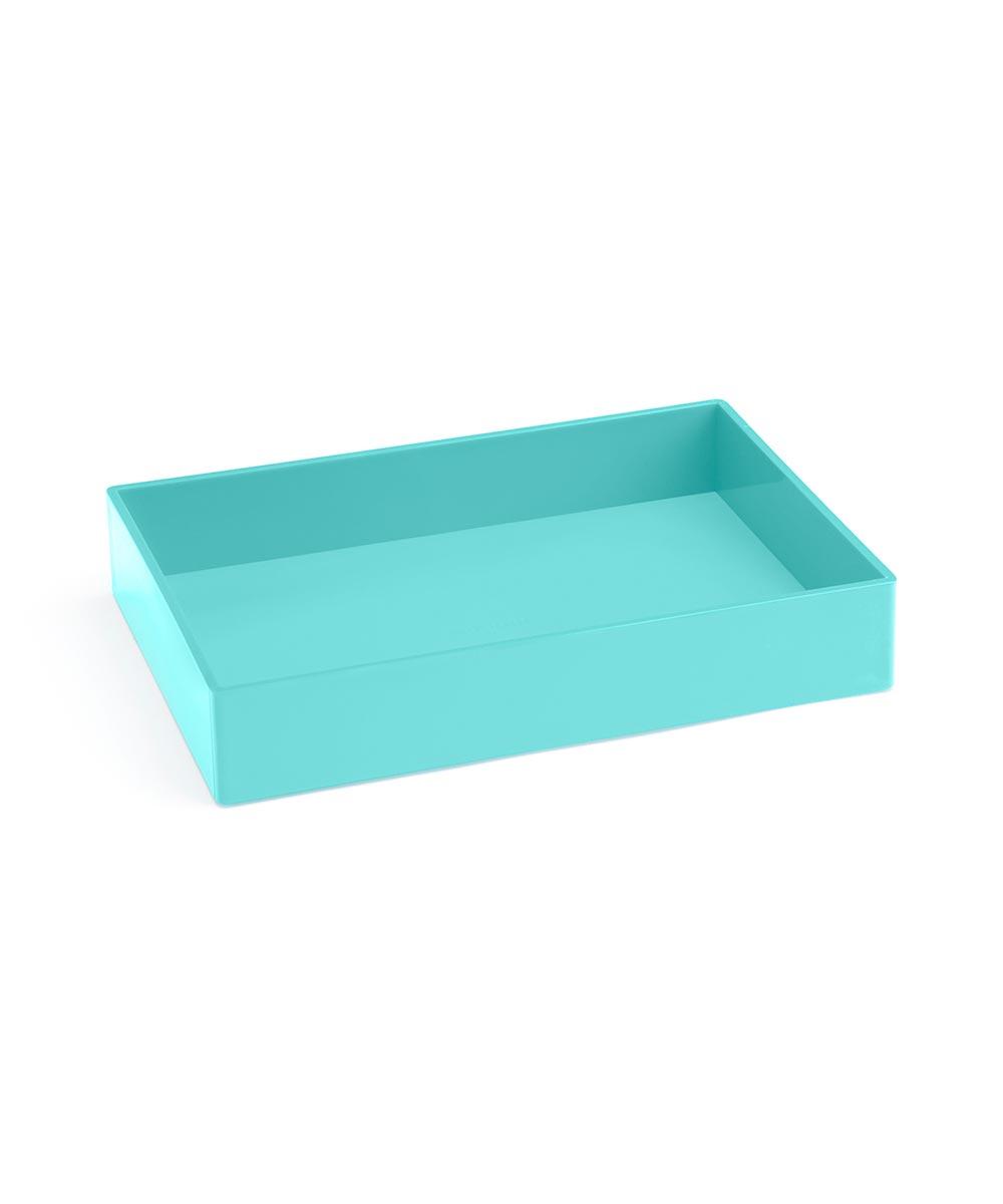 Accessory Tray Medium Aqua