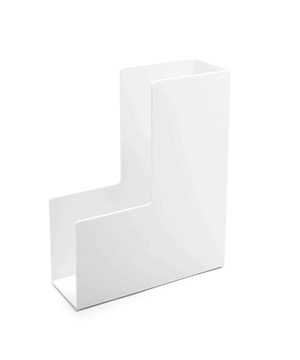 Magazine File, White