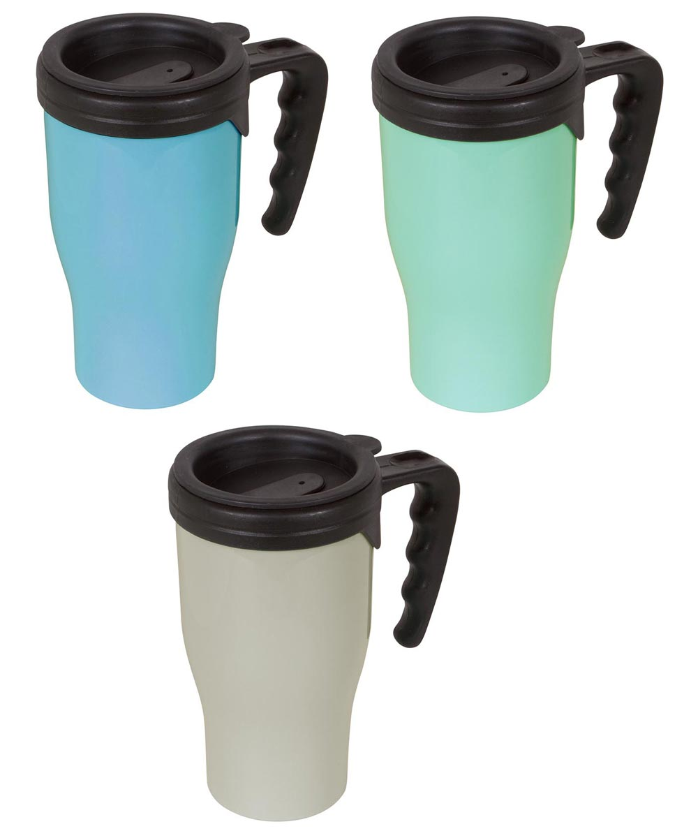16 Ounce Thermal To-Go Mug, Assorted Colors