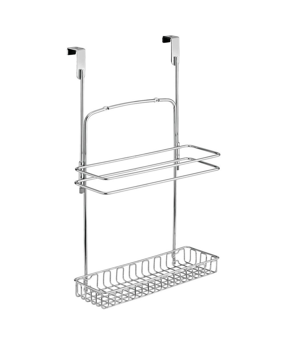 Classico Over-the-Cabinet Metal Vertical Organizer, Chrome Finish