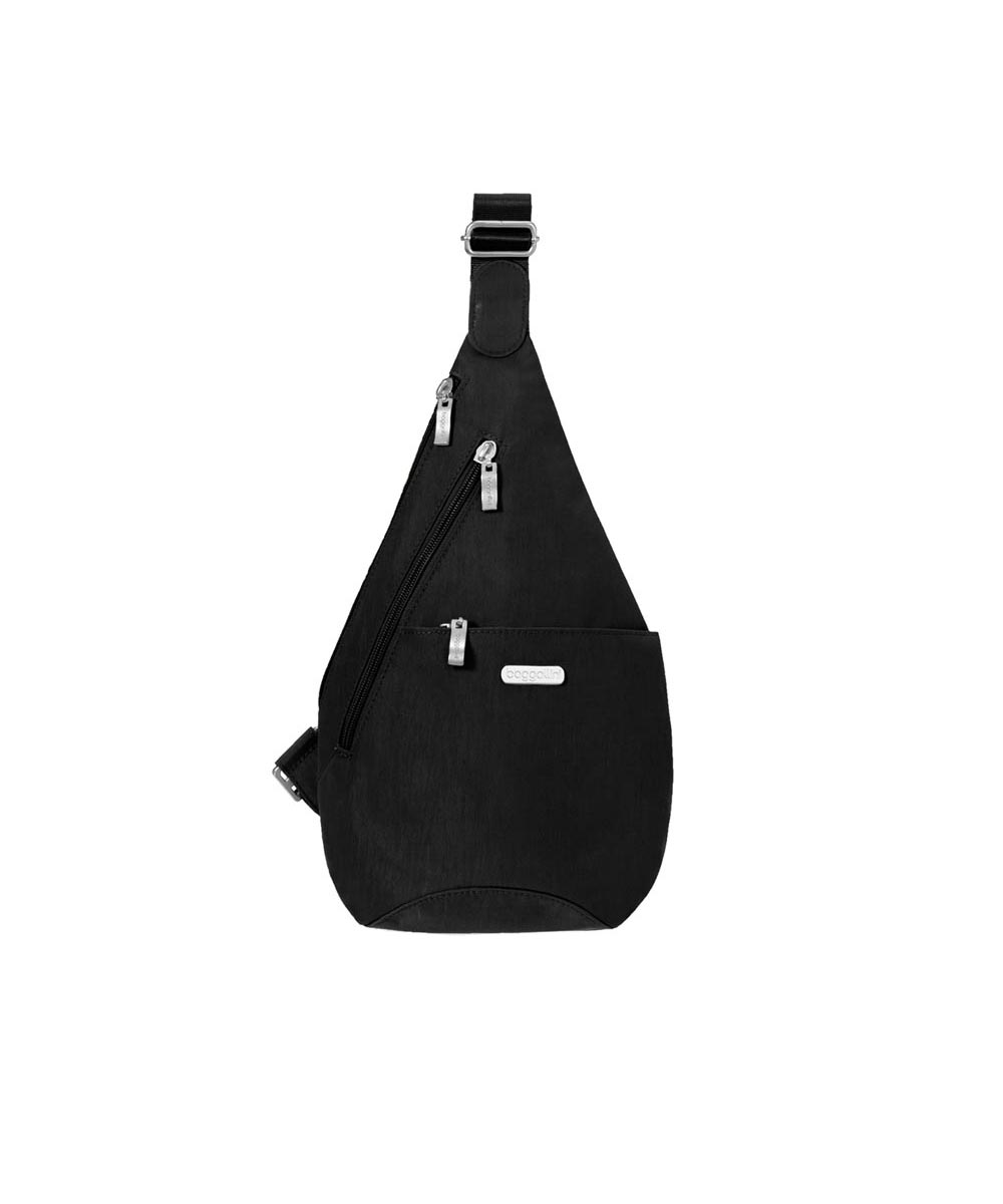 Mini Sling Bag, Black