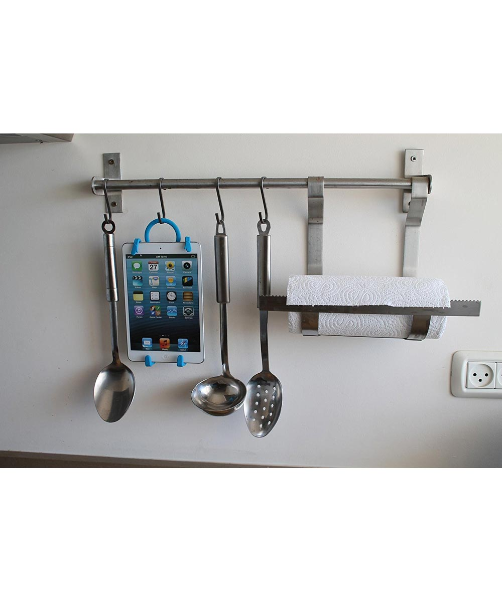 Tabi Stretch It On Flexible Mobile Tablet & Phone Holder with Hook, Assorted Colors