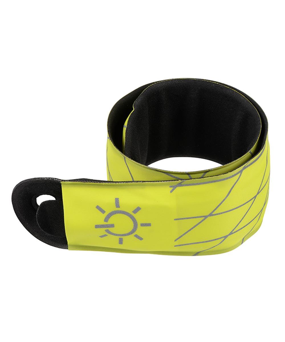 SlapLit LED Slap Wrap Safety Light, Yellow