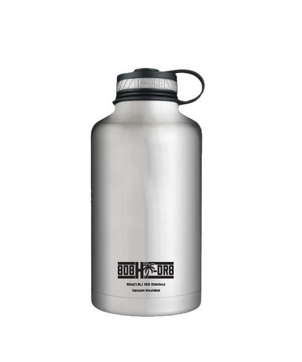 62 oz Stainless Steel Vacuum Insulated Water Bottle, Big Steely