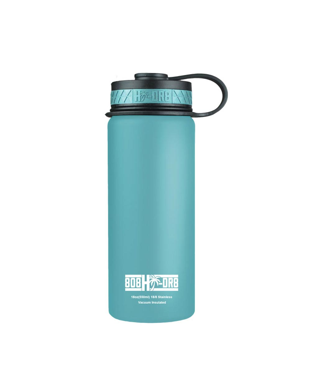 18 oz Stainless Steel Vacuum Insulated Water Bottle, Tropical Tiffany