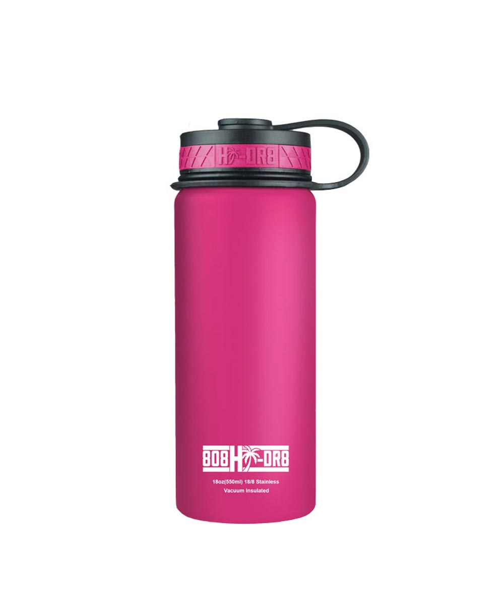 18 oz Stainless Steel Vacuum Insulated Water Bottle, Paradise Pink