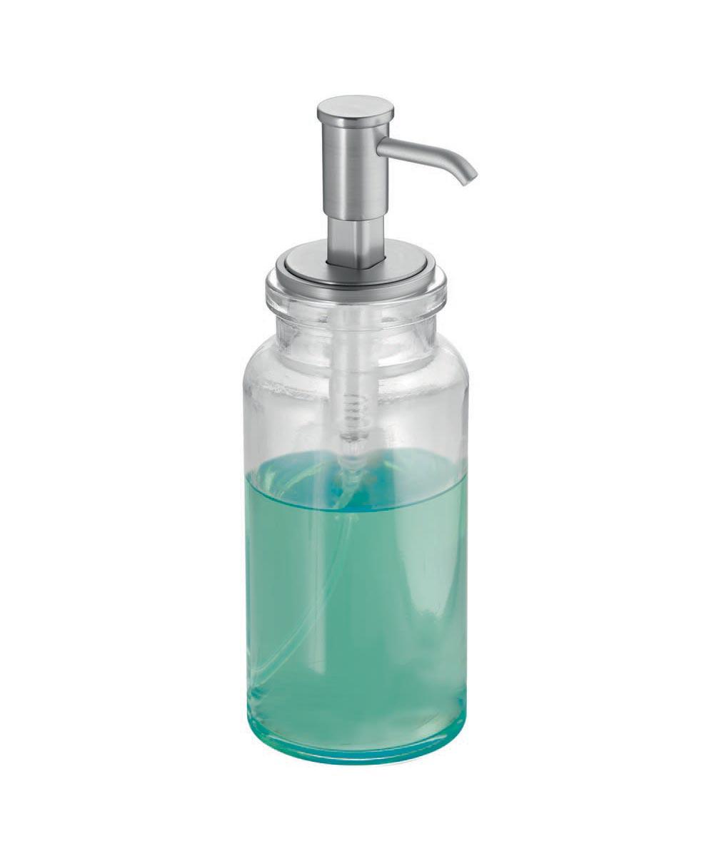 Westport Glass Soap & Lotion Dispenser Pump