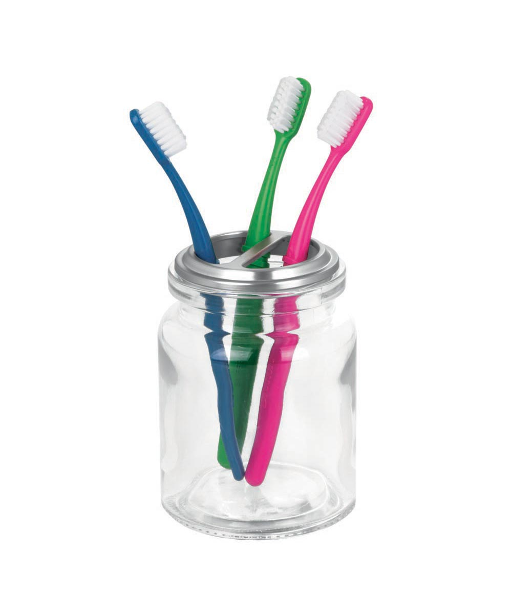 Westport Glass Toothbrush Holder