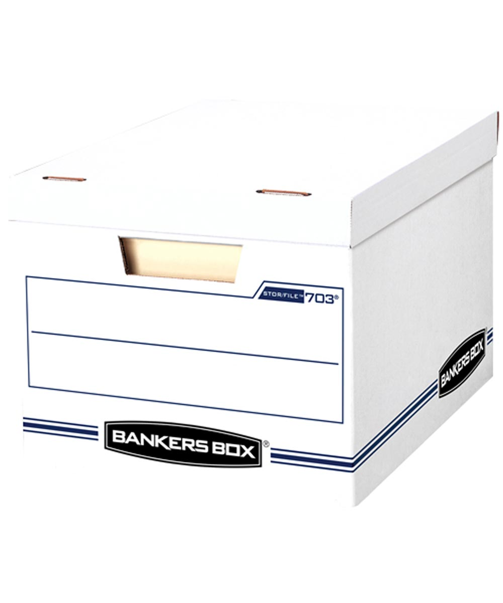 Bankers Box File Storage with Lid, Letter/Legal Size