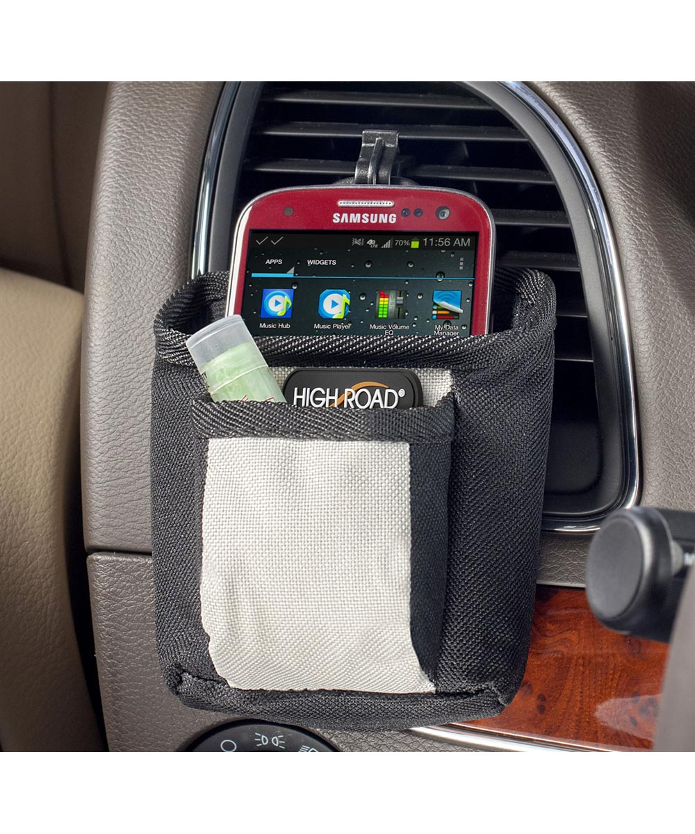DriverPockets Air Vent Hanging 2-Pocket Organizer