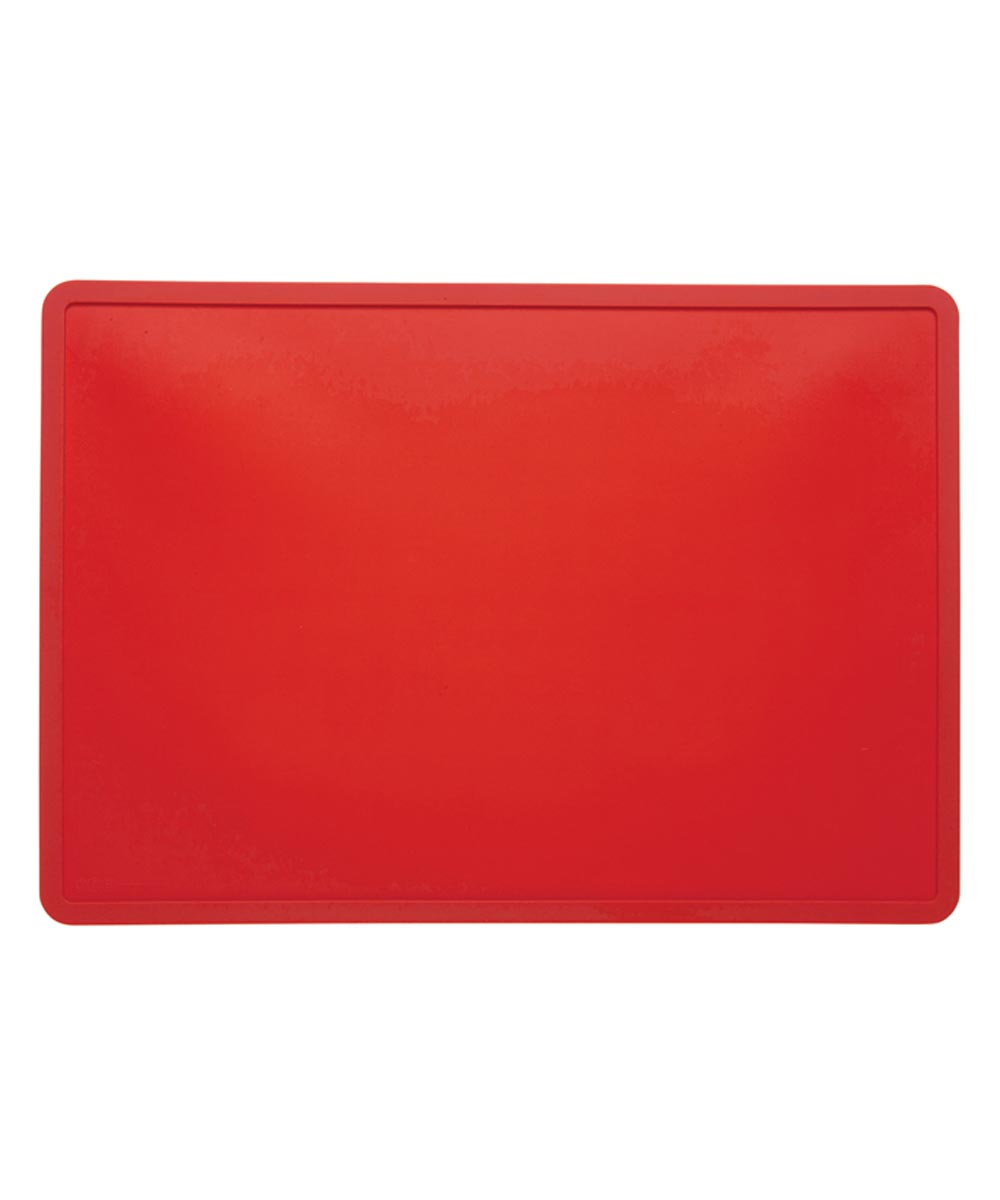 ORE' PET Silicone Pet Food Placemat, Rich Red