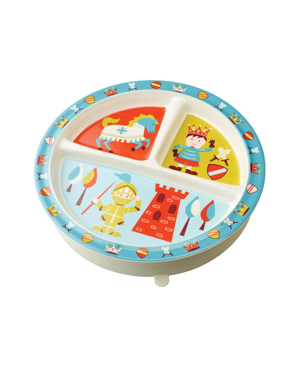 ORE' SUGARBOOGER Little Prince of Thrones Divided Dining Plate with Suction Base