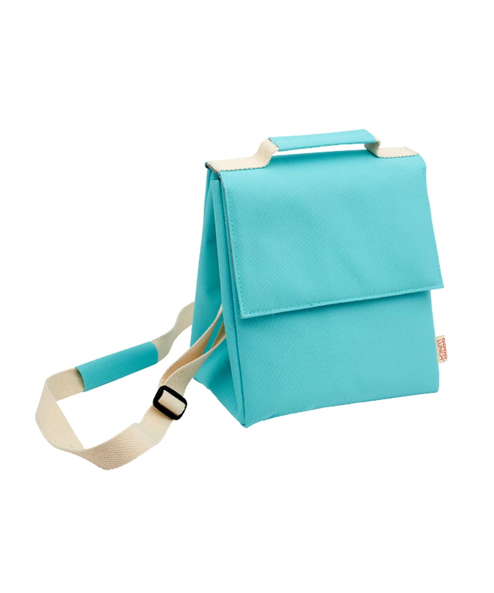 Super Good Insulated Lunch Sack, Awesome Aqua