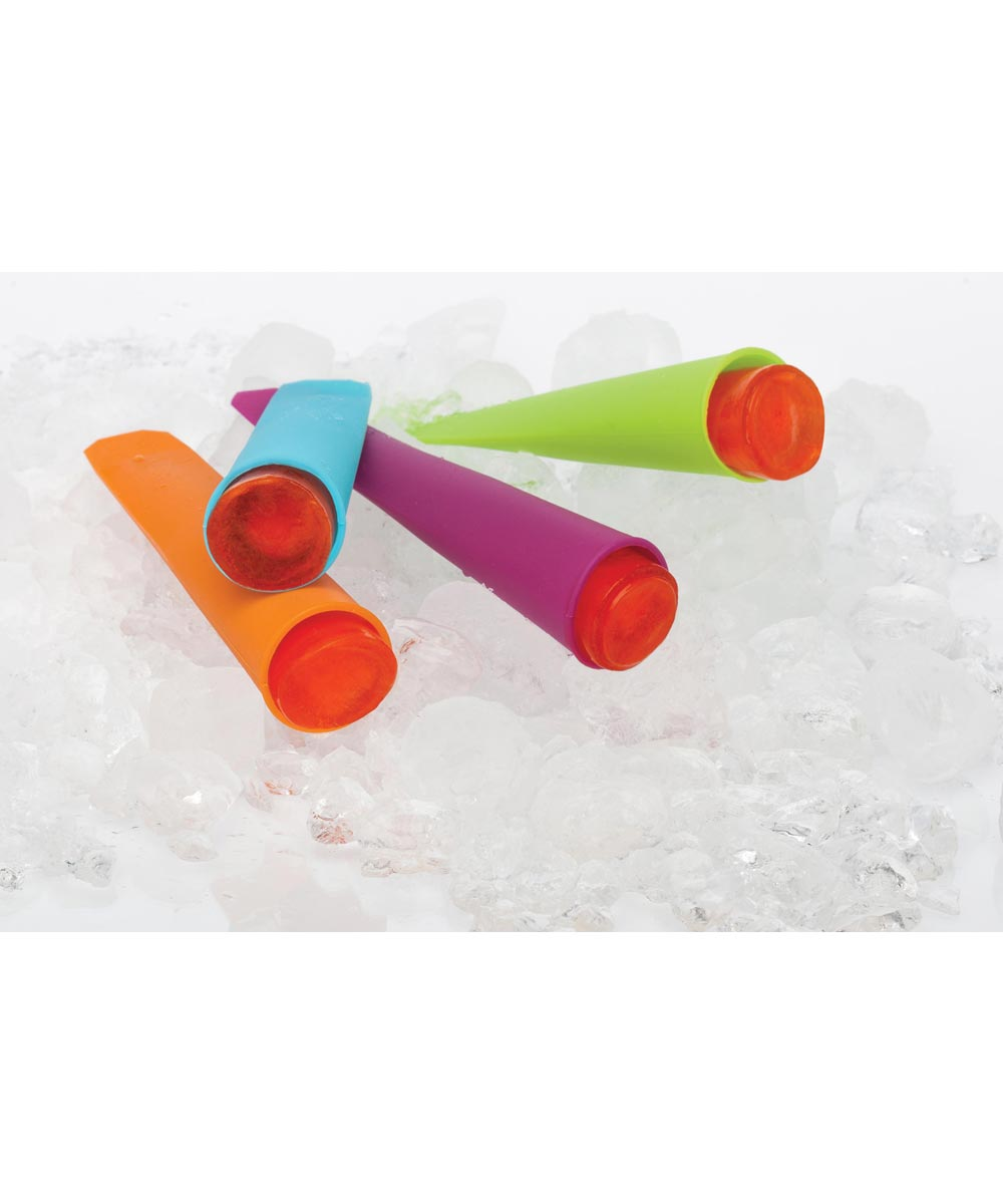 Ice Pop Set, Silicone, Set of 4