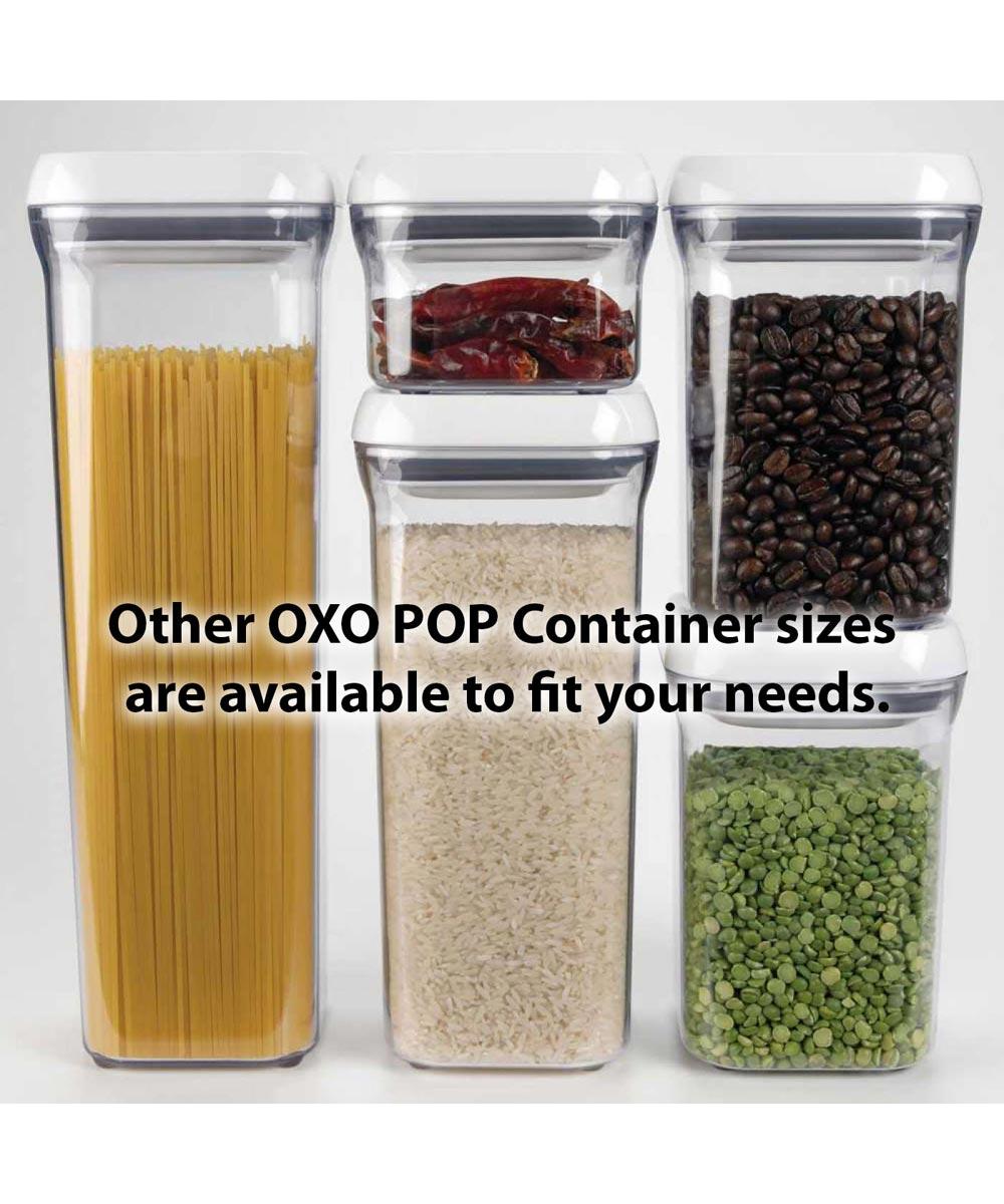0.9 Quart POP Container, Small Square