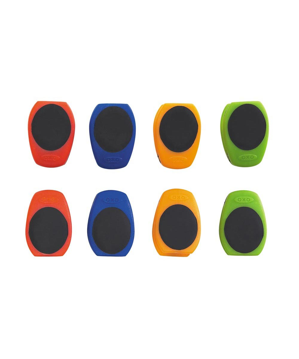 Magnetic Mini Clips, 8-Pack, Assorted Colors