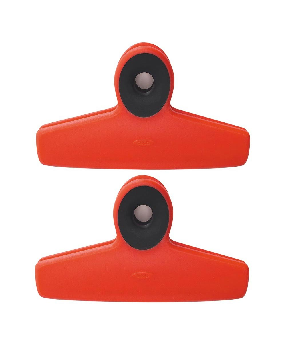 Bag Clips, 2-Pack, Red