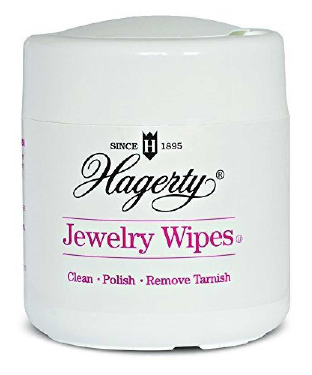 Hagerty Jewelry Wipes, 20 Pieces