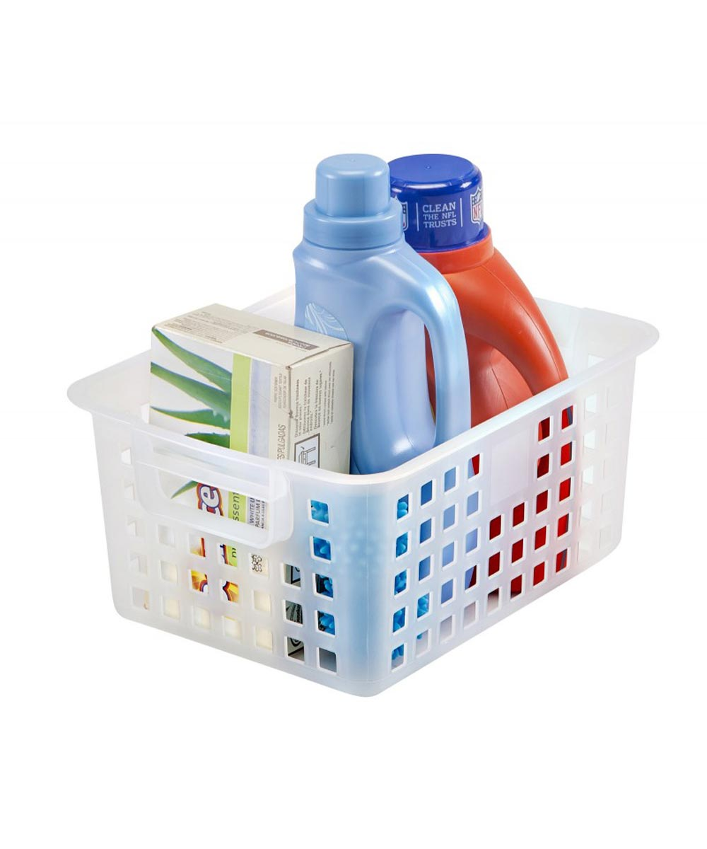 Medium Mesh Basket, Clear