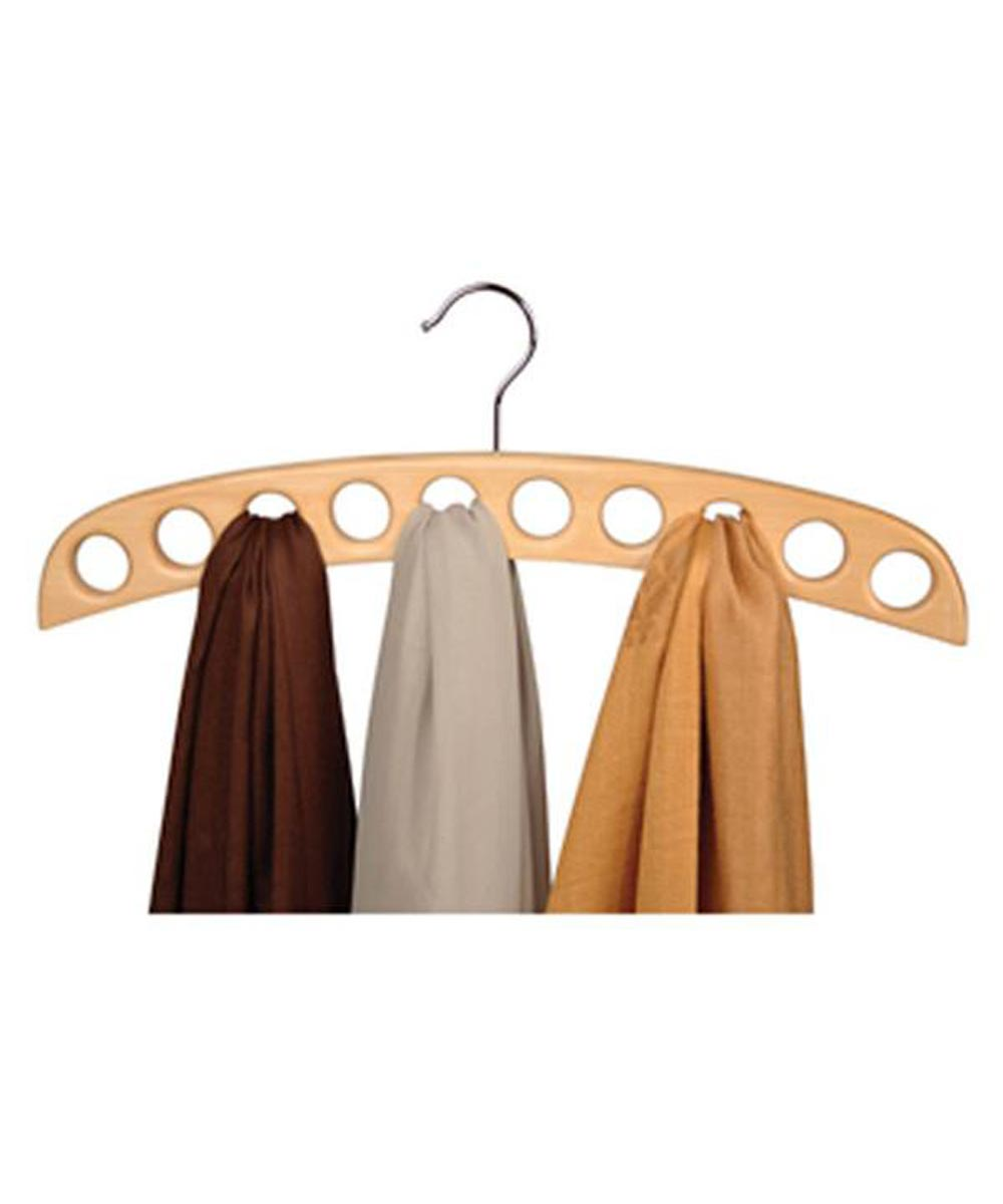 Scarf Hanger, Natural Wood