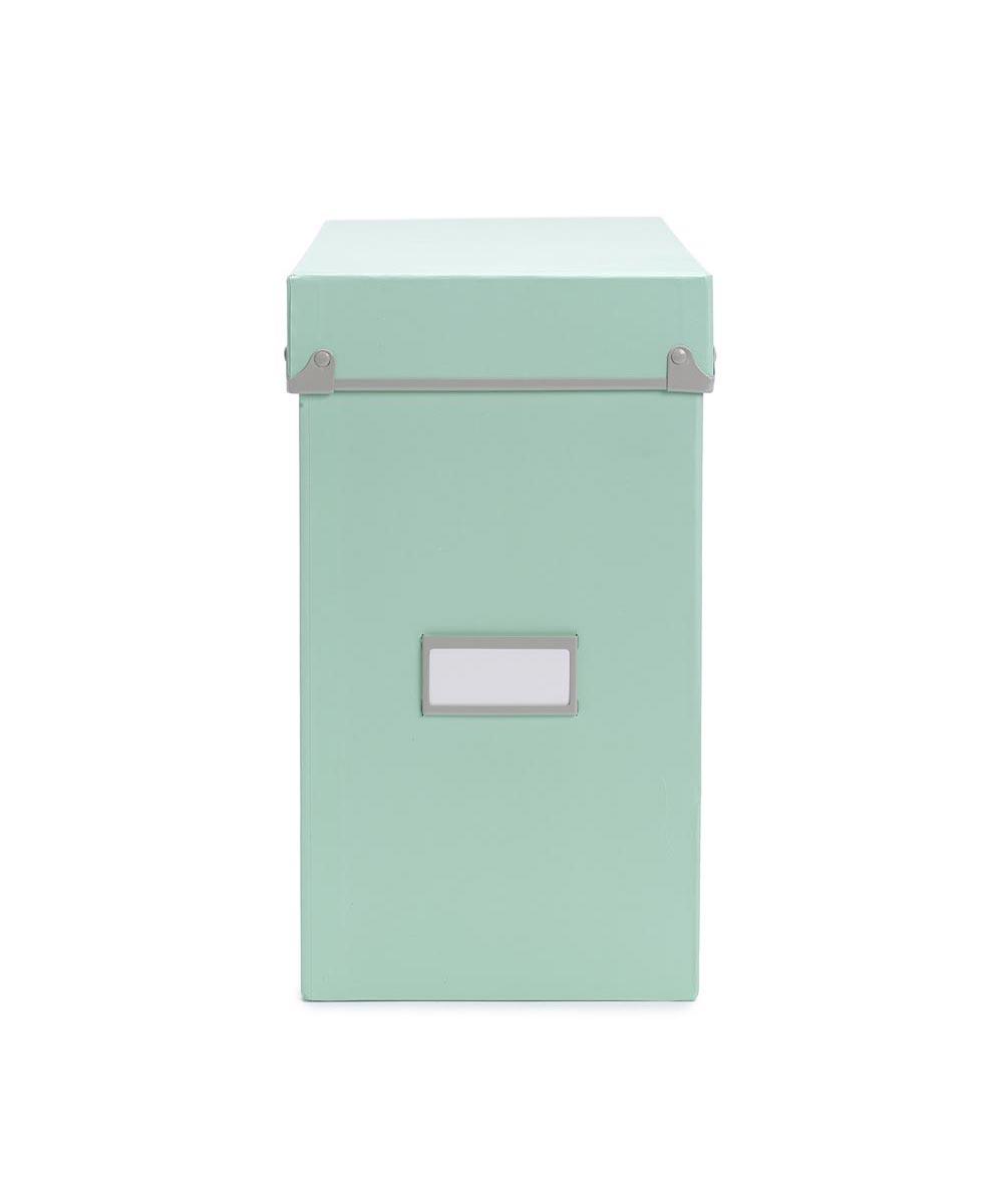 Frisco File Box, Mint/Fog Color