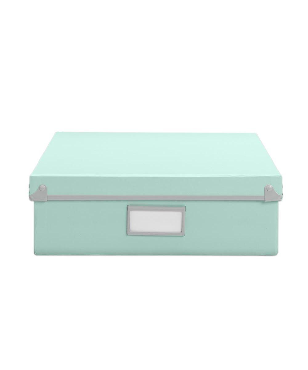 Frisco Paper Box, Mint/Fog Color