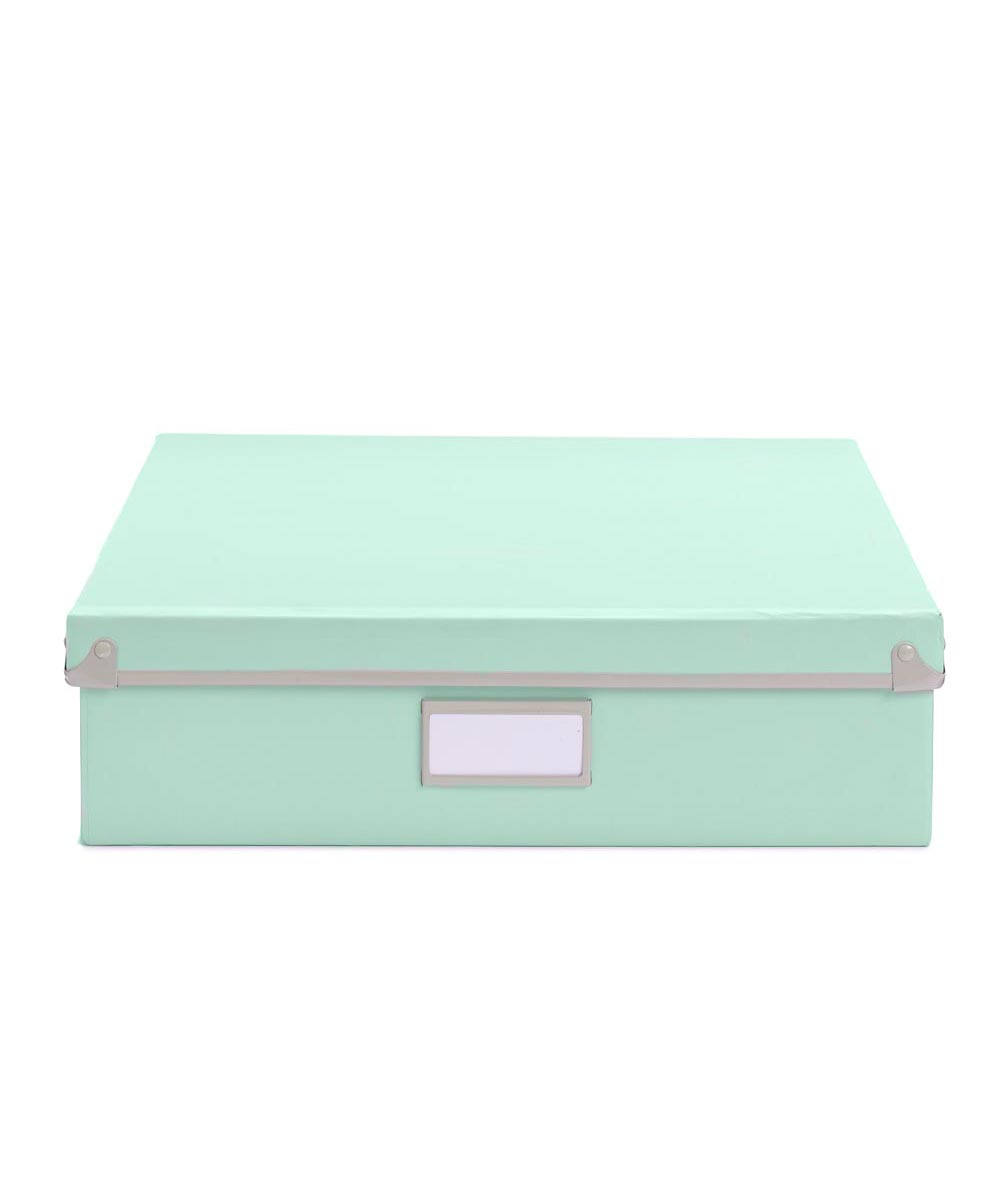 Frisco Document Box, Mint/Fog Color
