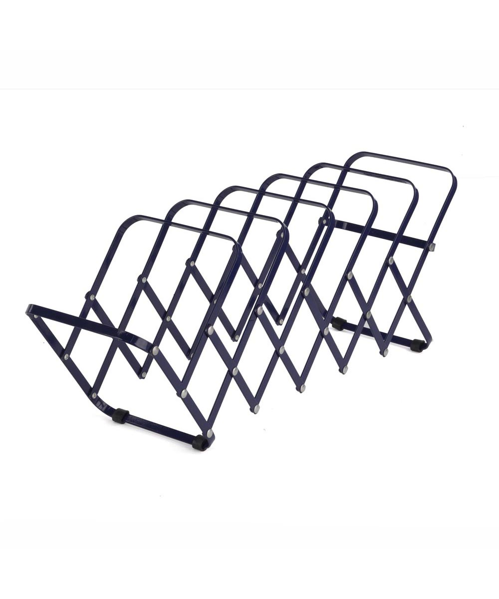 Zydeco Collapsible Steel File Sorter, Navy Clor
