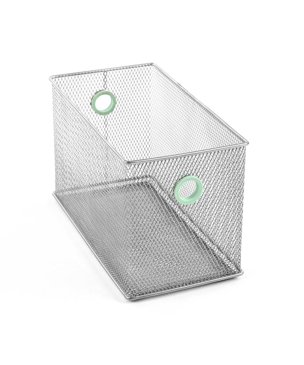 Digit Mesh Stuff Box, Mint Color Accent