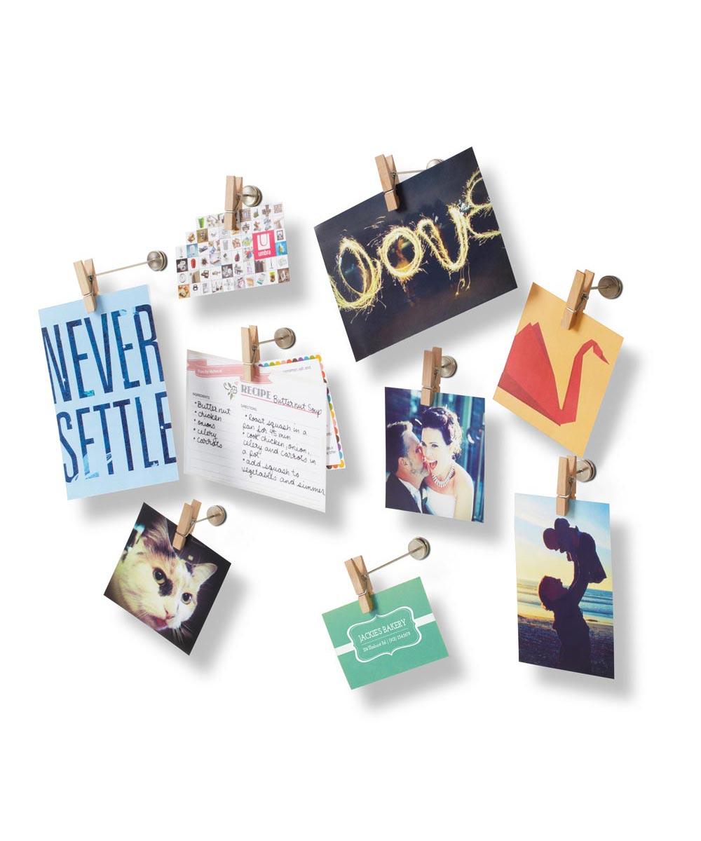 Pinch Photo Wall Display, Set of 9