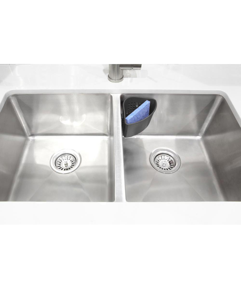 Cub Corner Sink Caddy, Black
