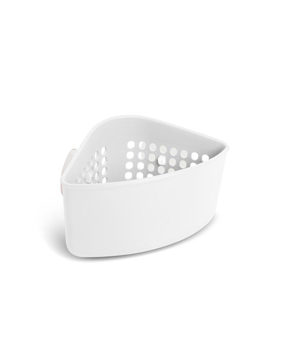 Cub Corner Sink Caddy, White