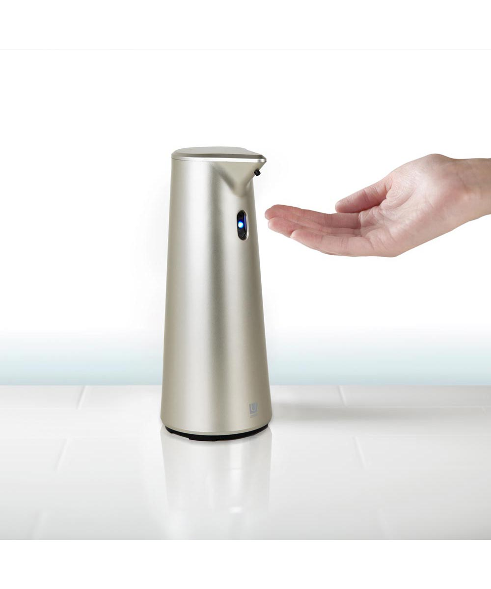 Finch Sensor Soap Dispenser Pump, Nickel