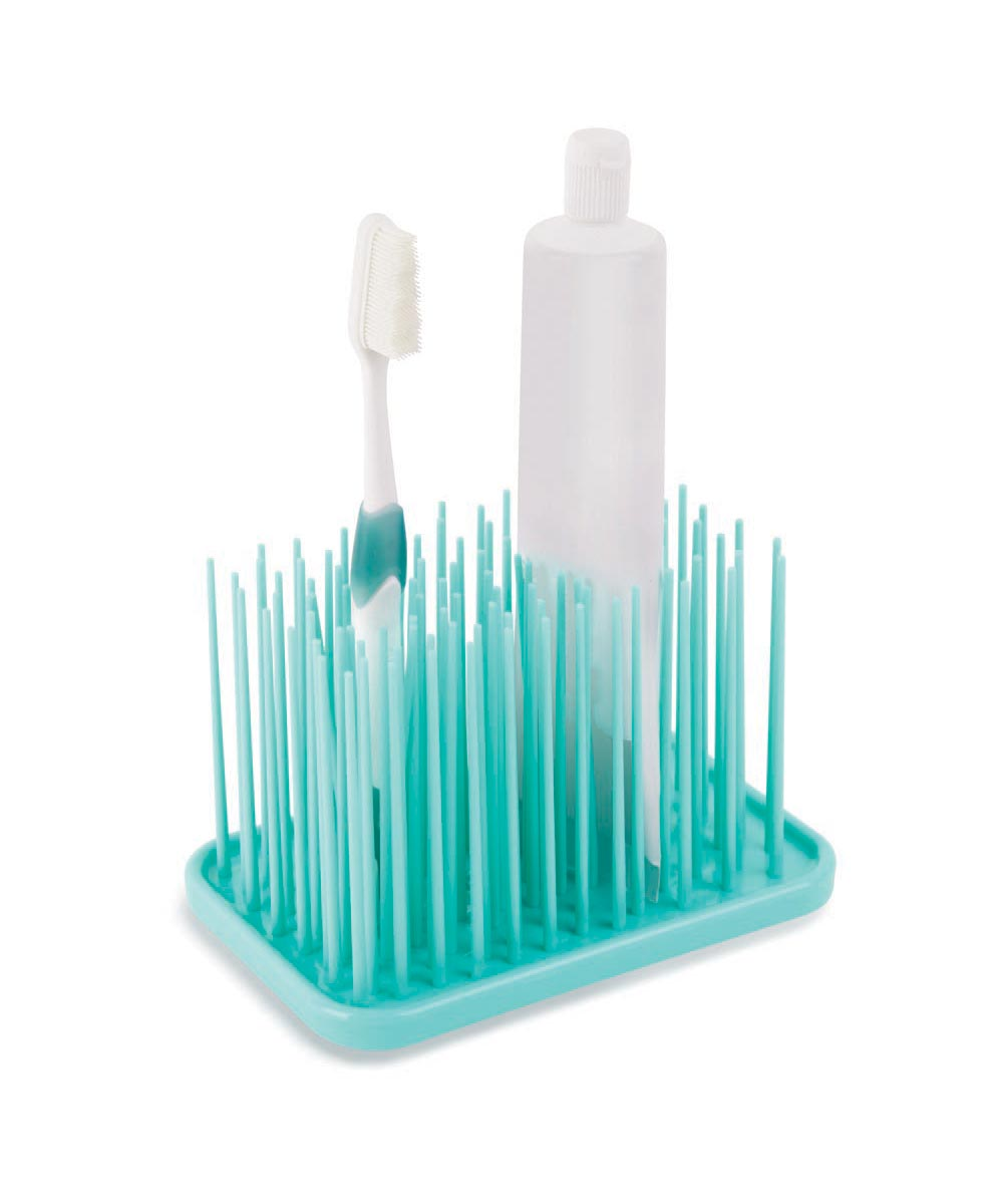 Grassy Bathroom Organizer, Blue