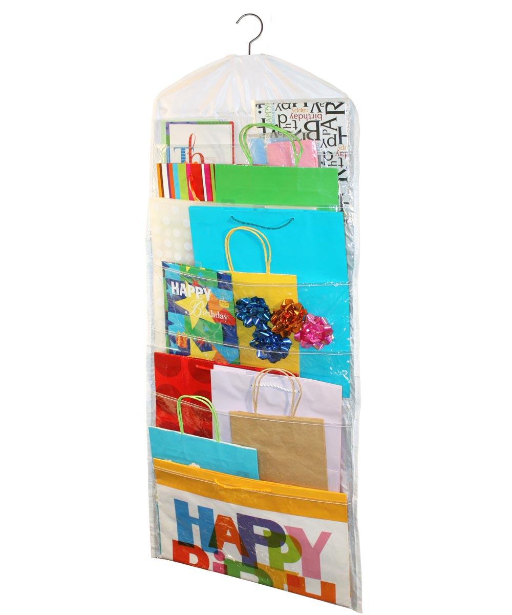 Gift Bag Organizer, White
