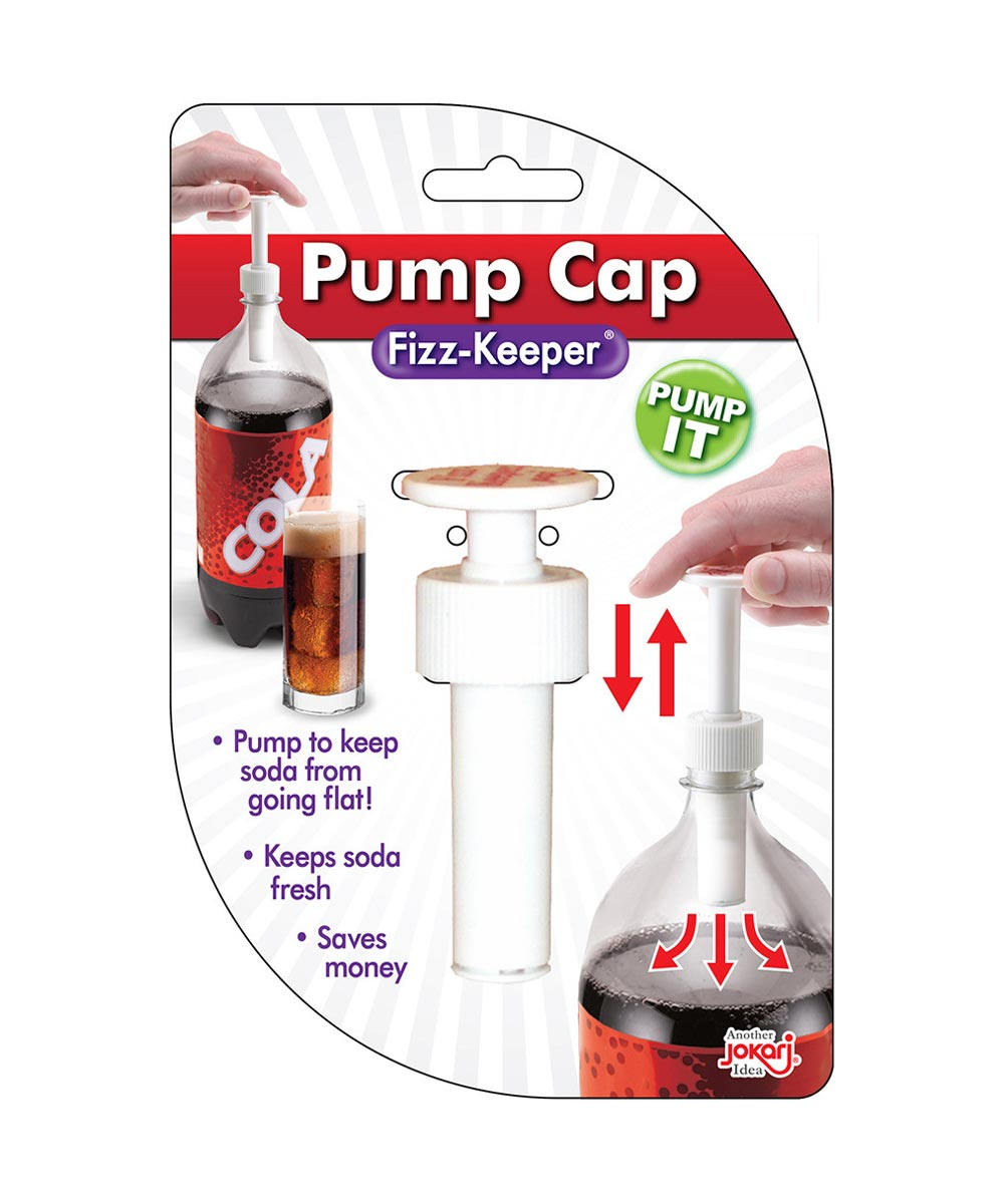Soda Bottle Pump Cap Fizz-Keeper