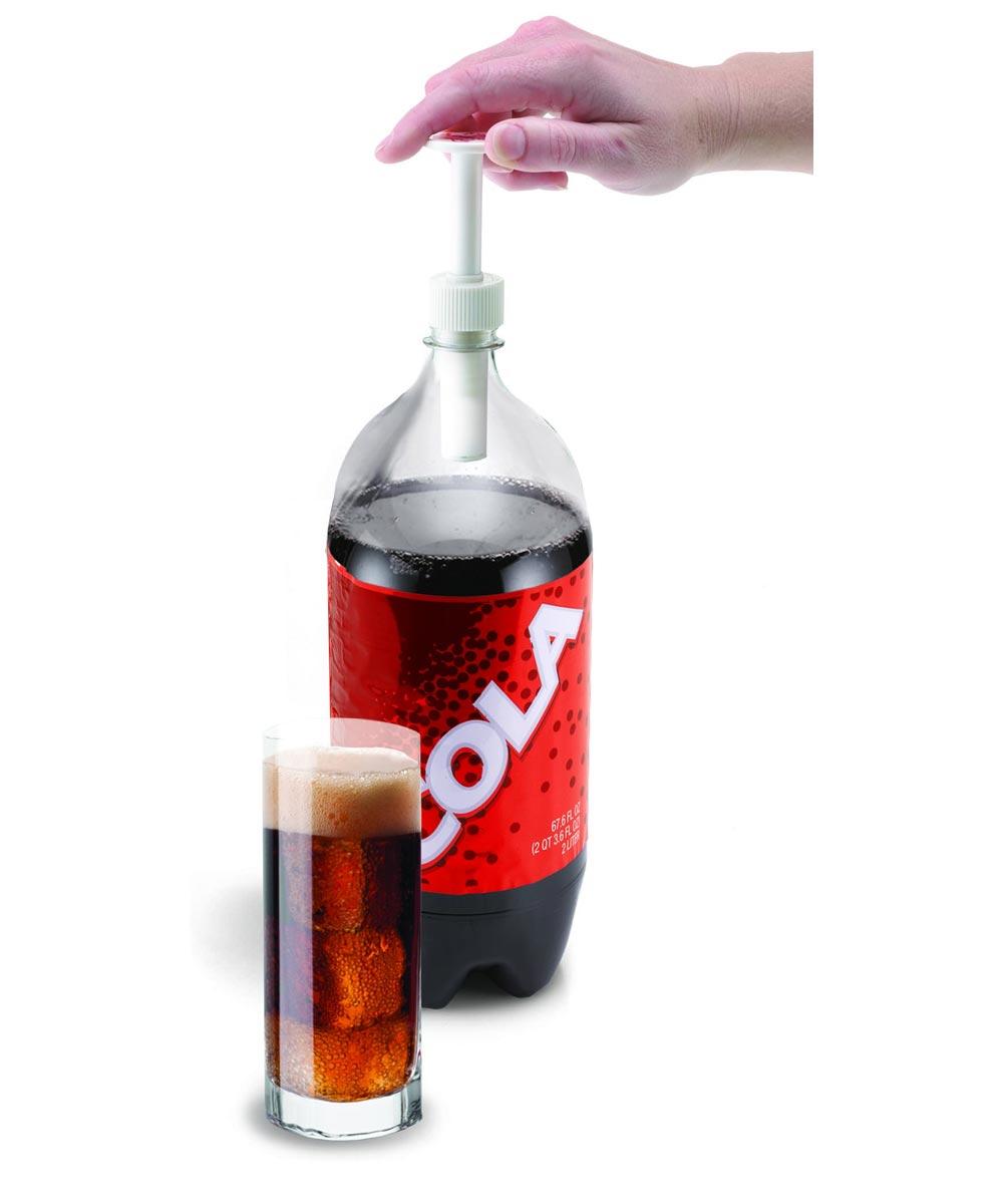 Soda Bottle Pump Cap Fizz-Keeper