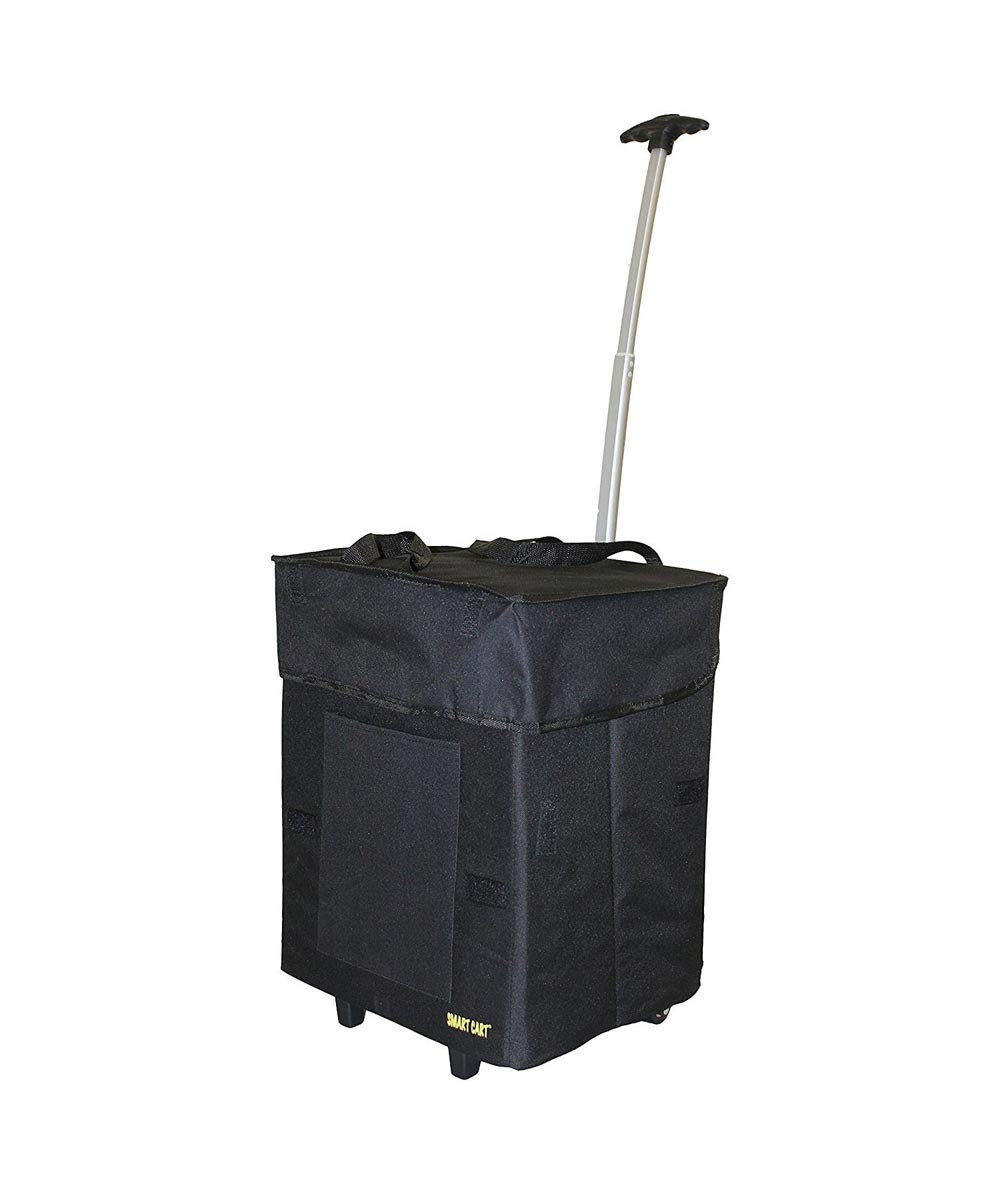 Collapsible Bigger Smart Cart, Black