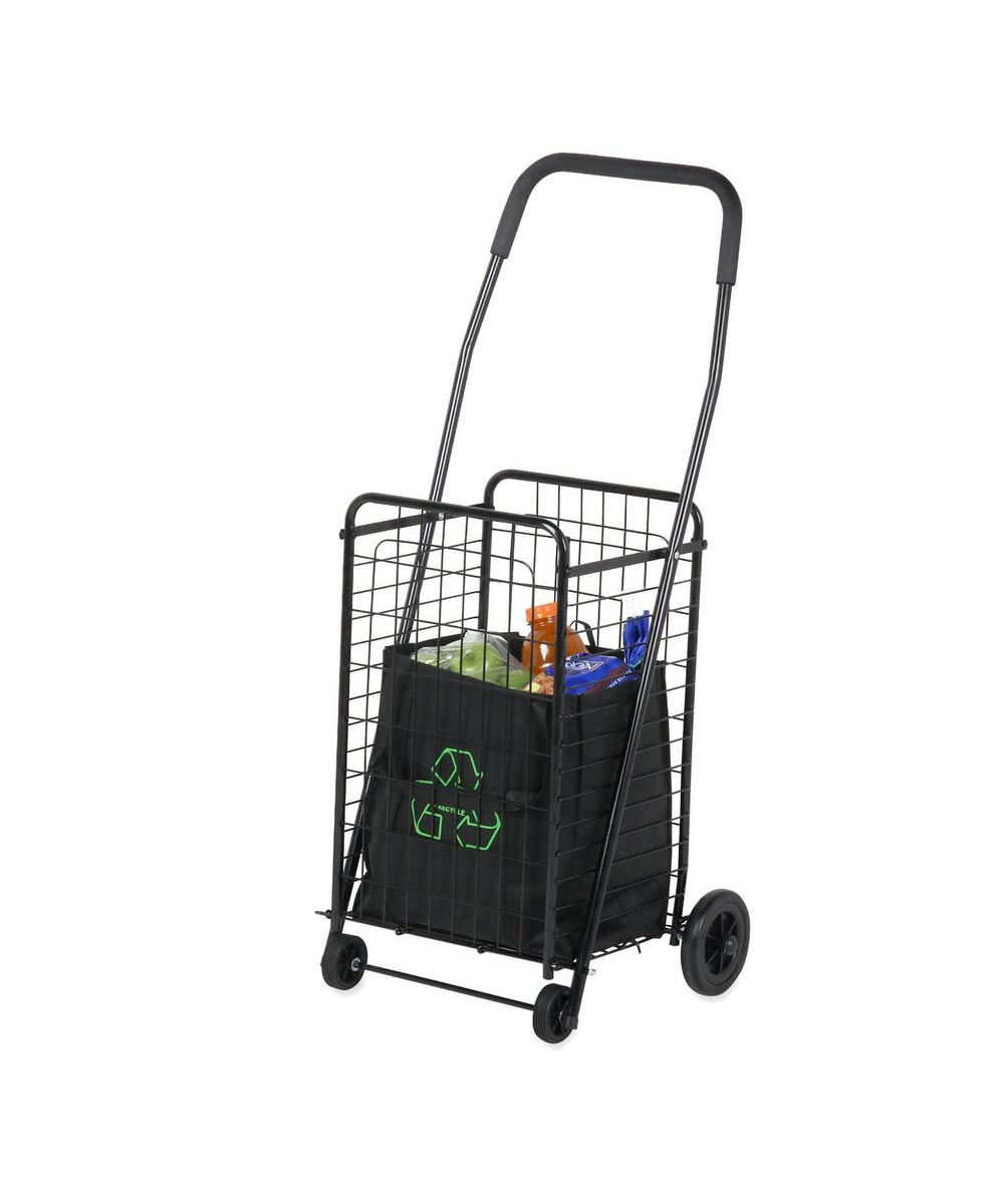 Medium Folding 4 Wheel Rolling Utility Cart