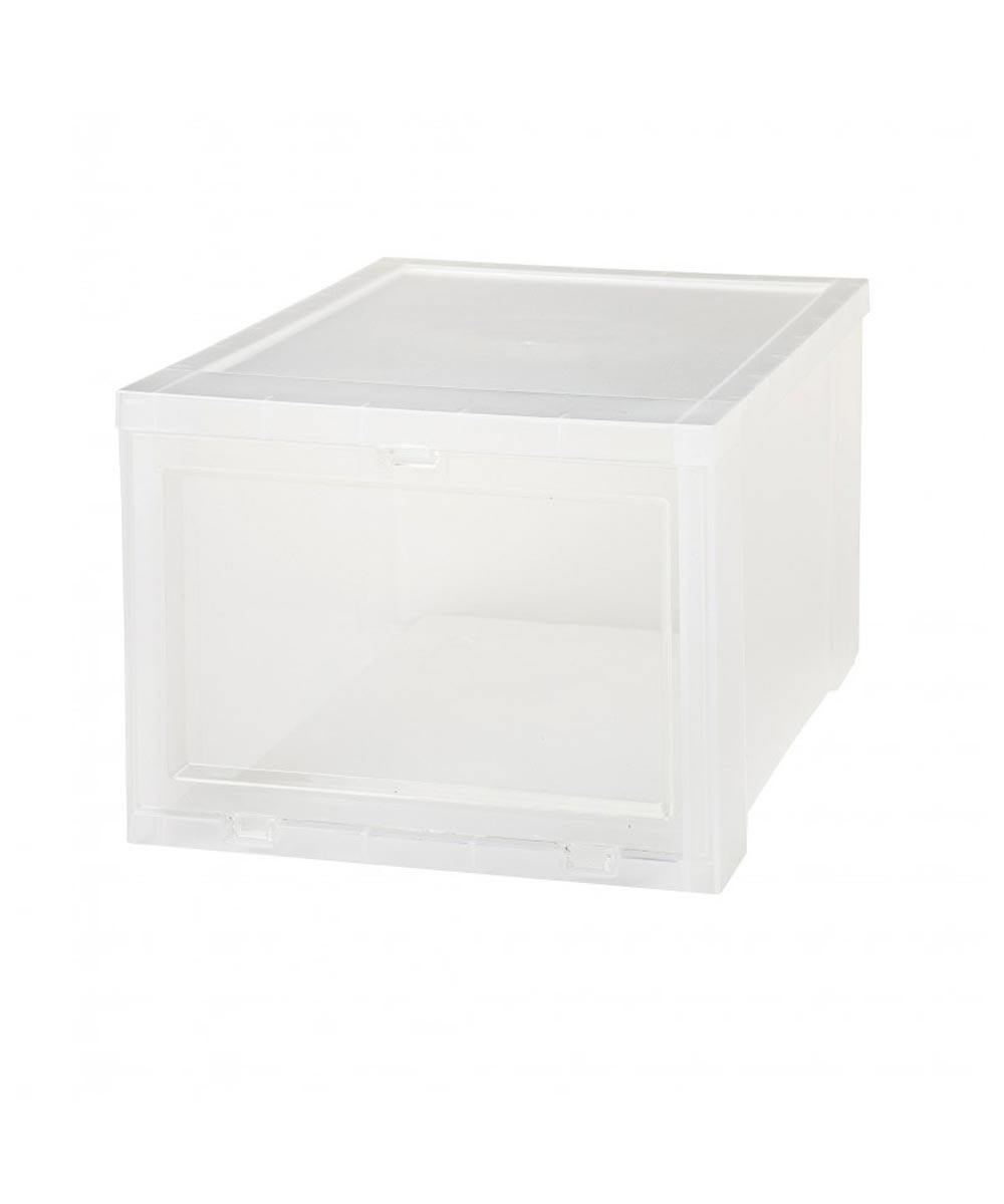 Drop Front Shoe Box for Women's Shoes