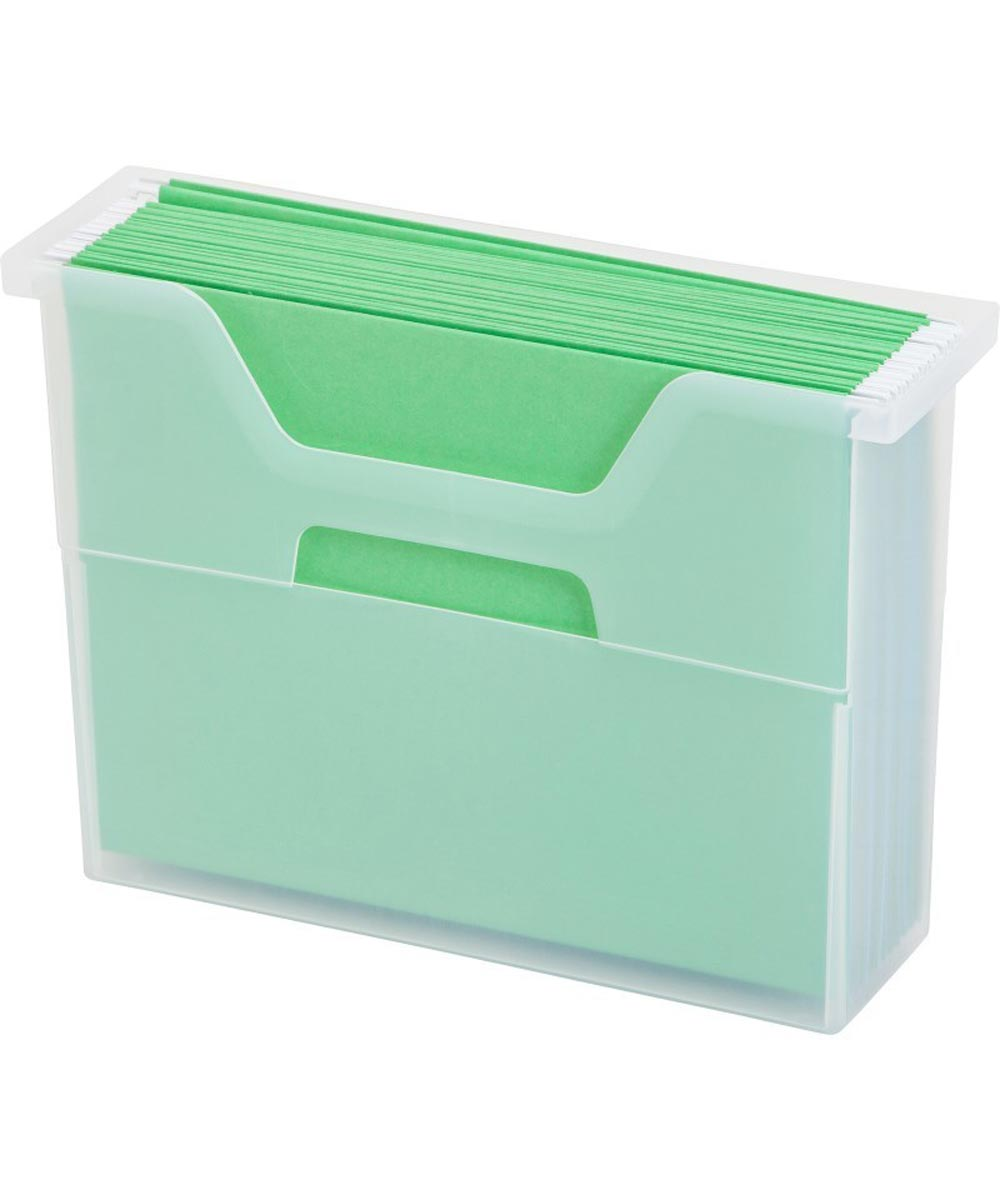 Small Open Top File Box