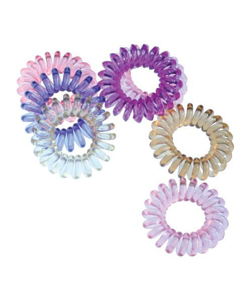 Mini SwirlyDo Hair Ties, 3 Pieces, Assorted Colors