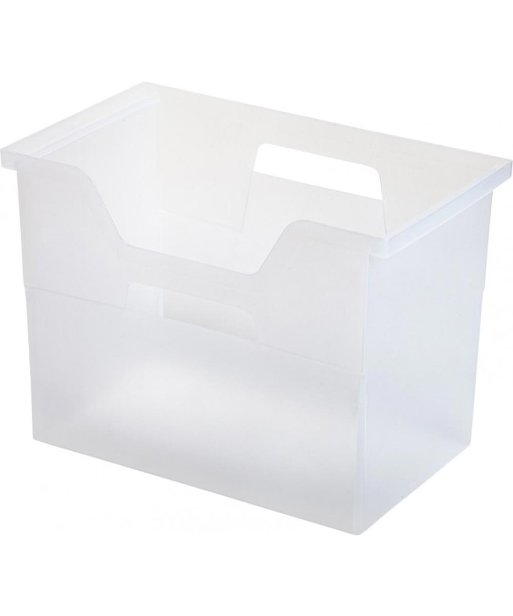 Large Open Top File Box