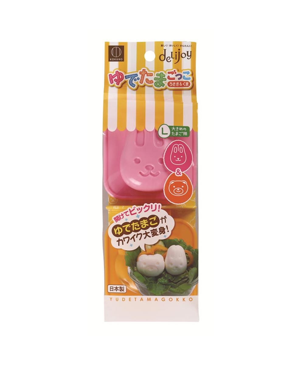 Cute Bear & Rabbit Egg Molds, Assorted Colors