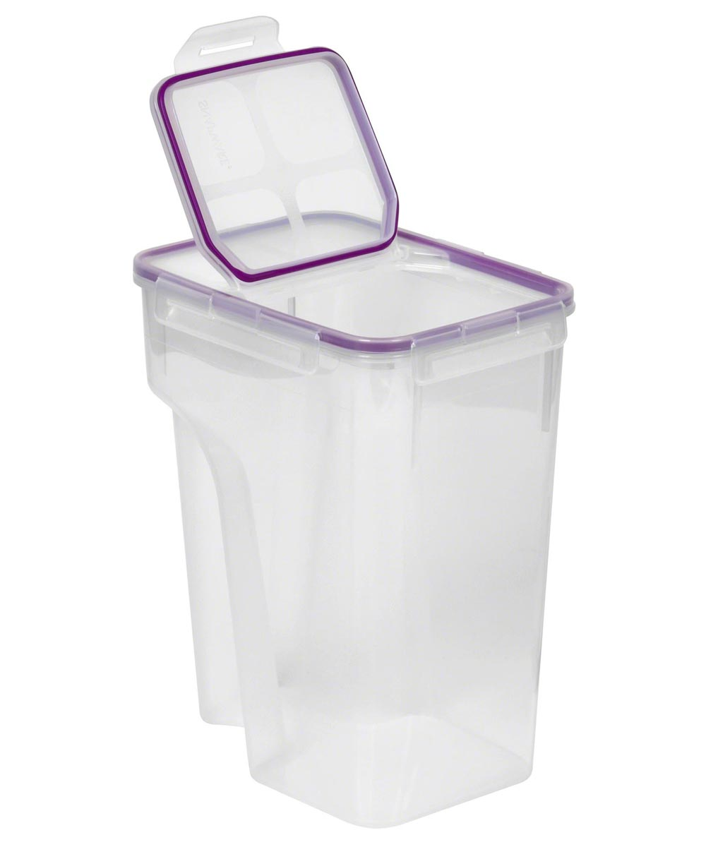 22.8 Cup Jumbo Flip Top Rectangle Cereal Keeper